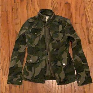 Abercrombie camo utility jacket